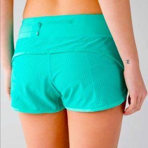 Lululemon shorts Bali breeze mesh RARE